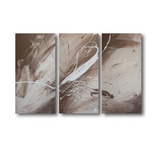3 Piece Abstract Canvas Painting Set