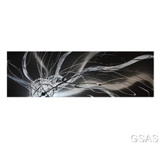 Abstract Canvas Painting in Black