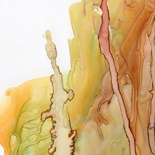 Organic Flow II Canvas Wall Art