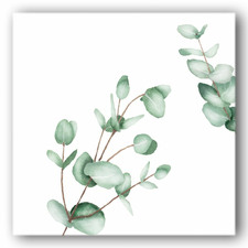 Silver Eucalyptus II Canvas Wall Art