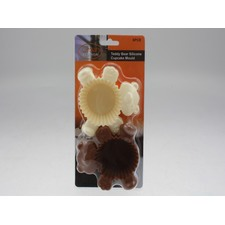 6 Piece Silicone Teddy Bear Fun Cup (Set of 2)