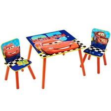 Cars Table & 2 Chairs