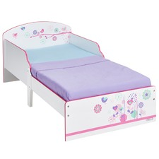Flowers & Birds Classic Toddler Bed