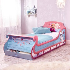 Frozen Sleigh Single Bed