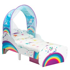 Unicorn & Rainbow Toddler's Bed