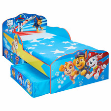 Paw Patrol Kids Toddler Bed with Storage