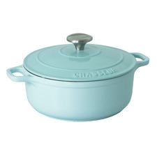 Duckegg Blue Chasseur 5L Round French Oven