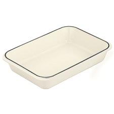 Chasseur White Roasting Dish 40x26cm