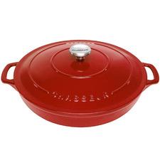 Chasseur Inferno Red Round Casserole Dish 30cm/2.5L