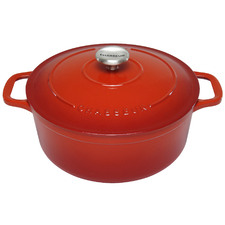 Inferno Red Chasseur Classique 5L Cast Iron French Oven