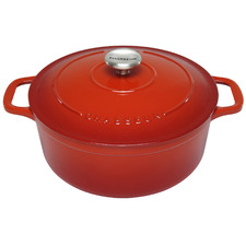 Inferno Red Chasseur Classique 6.1L Cast Iron French Oven