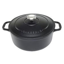 Matte Black Chasseur Classique 4L Cast Iron French Oven
