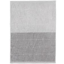 Chambray Diamond Cotton Bath Mat