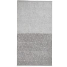 Chambray Diamond Cotton Bath Sheet