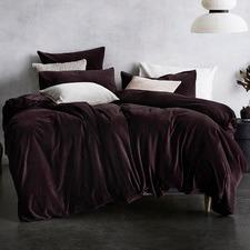 Fig Luxury Velvet Quilt Cover