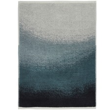 Indigo Eclipse Cotton Bath Mat