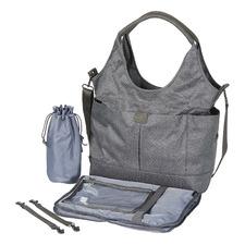 Denim Grey Tote Slouch Nappy Bag