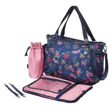 Botanical Floral Tote Nappy Bag