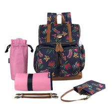 Botanical Floral Nappy Backpack