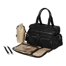 Carry All Faux Leather Nappy Bag