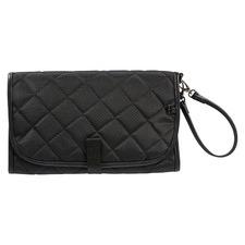 OiOi Black Quilt Portable Change Mat