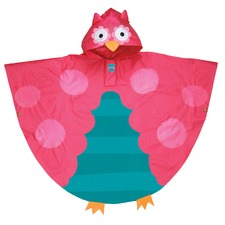 Owl Rain Poncho