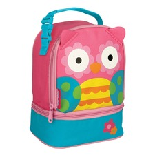 Pink Owl Lunch Pal Storage