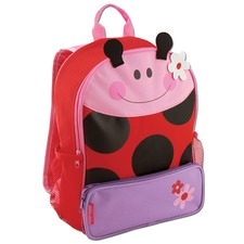 Red Ladybug Sidekick Backpack