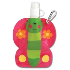 Pink Butterfly Little Squirt Drink Pouch