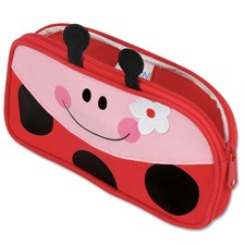 Red Ladybug Pencil Pouch