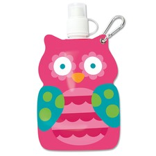 Pink Owl Little Squirt Drink Pouch