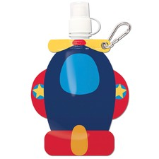 Blue Airplane Little Squirt Drink Pouch