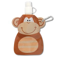 Brown Monkey Little Squirt Drink Pouch