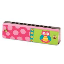 Pink Owl Harmonica