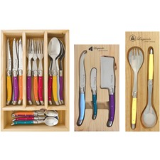 Multi-Coloured Laguiole by Louis Thiers Dining & Serving Set