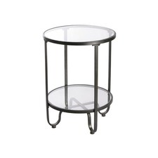 Round Side Table (Set of 2)