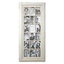 18 Open For 4x6 White Frame