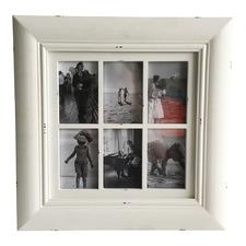 6 Open For 4x6 White Frame