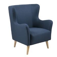 Gerard Arm Chair Navy Blue