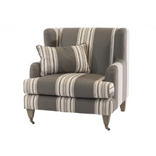 Striped Wing Armchair