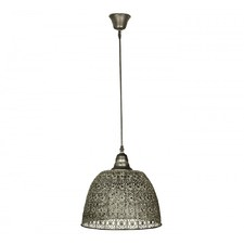 Pressed Metal Pendant Light