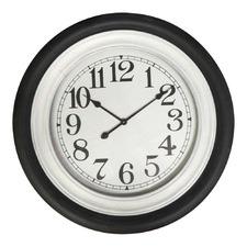 78cm Black & White Clock