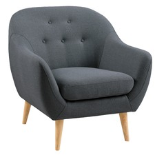 Dark Grey Isla Arm Chair