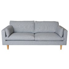Light Grey Tia 3 Seater Sofa