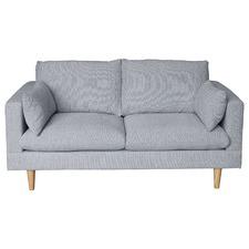 Light Grey Silas 2 Seater Sofa