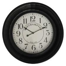 73cm Hamptons Clock with Tiled Frame