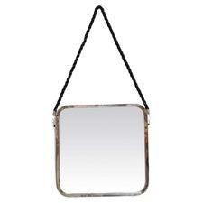 Square Jute Rope Hanging Mirror