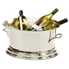 Nickel Wine Cooler Tub