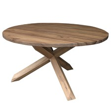 Round Chatham Wood Dining Table