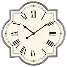 Marrakesh Metal Tile Clock
